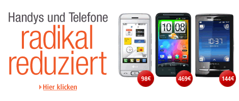 Handy & Telefon-Aktionswochen bei Amazon