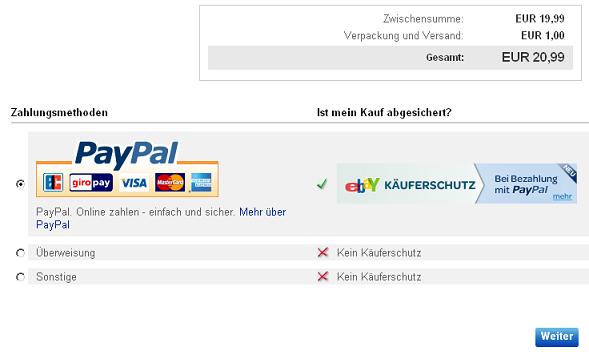 Ebay Kaufabwicklung Paypal Funktioniert Nicht 2021