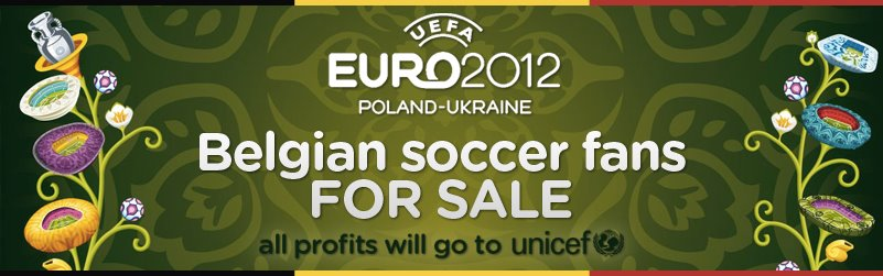 20.000 Belgian football fans will root for your team at euro 2012