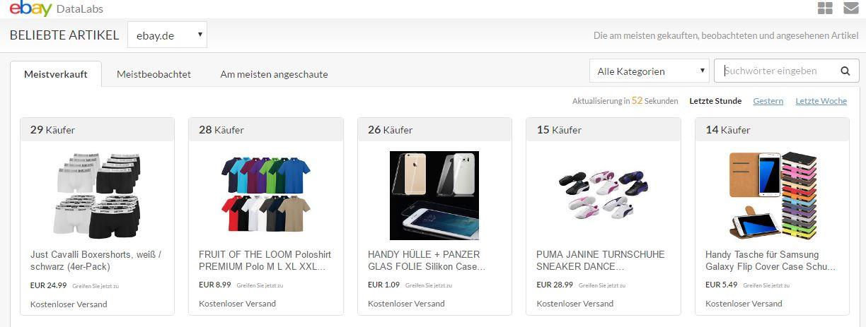 eBay hebt seinen Daten-Schatz mit überzeugenden Analysetools!