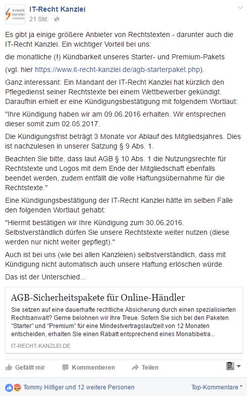 Customer Fairness -4.0: IT-Recht Kanzlei München