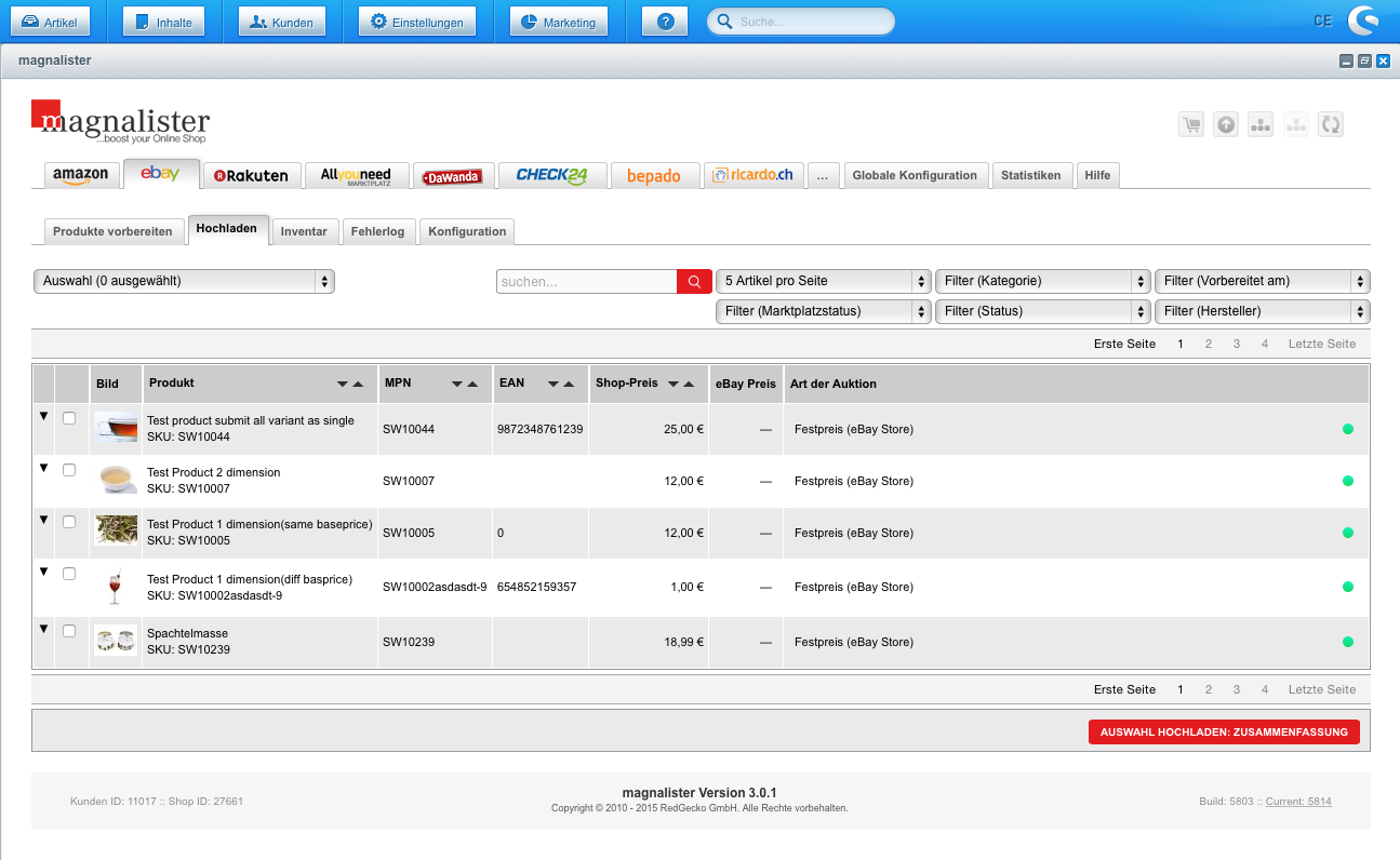 magnalister kann es: Automatisch GTIN EAN bei eBay hinzufügen