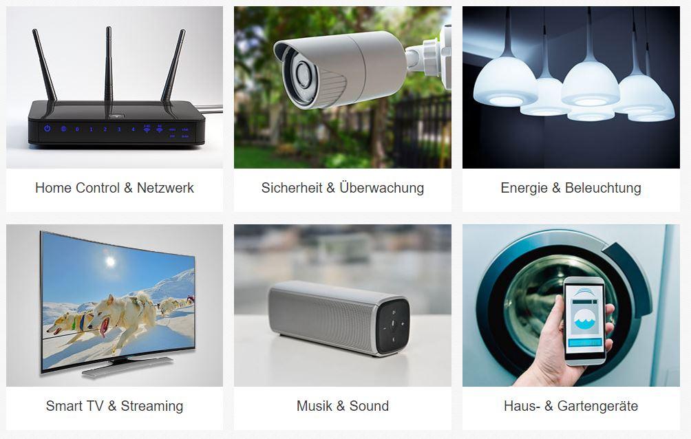 eBay bringt Smart-Home Einstiegsseite an den Start