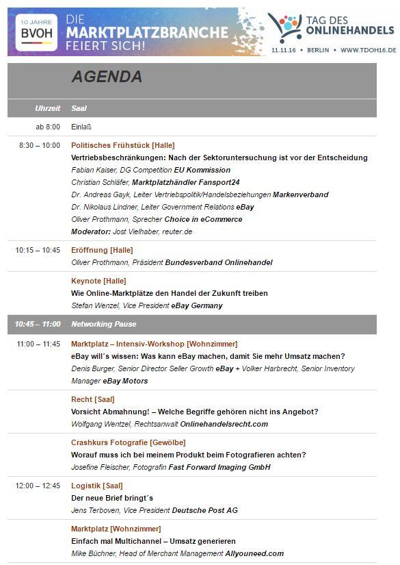 Save the date 11.11 Tag des Onlinehandels in Berlin
