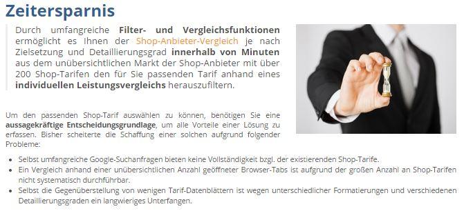 ecomparo.de – Die Vergleichsplattform für Shopsysteme!