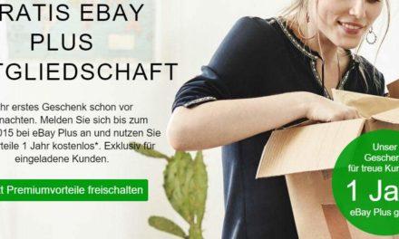 eBay PLUS Mitgliedschaft gratis – jetzt für 12 Monate [UPDATE]
