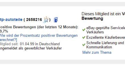 Größter eBay Händler – ATP-Autoteile: aus der Oberpfalz zur Weltherrschaft