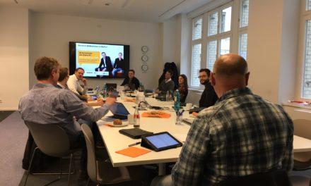 """Kick Off der Coaches: Amazon Förderprogramm """"Unternehmer der Zukunft"""""""