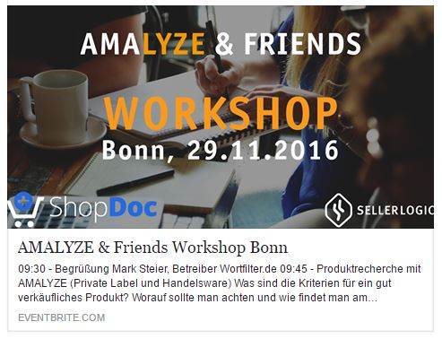 Recap von Florian Berger: Amalyze & Friends Workshop in Bonn