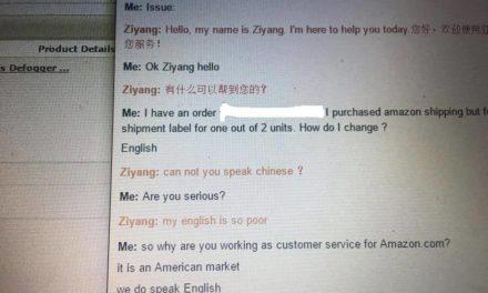 We do speak english!
