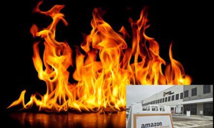 Bei Amazon brennt die Hütte