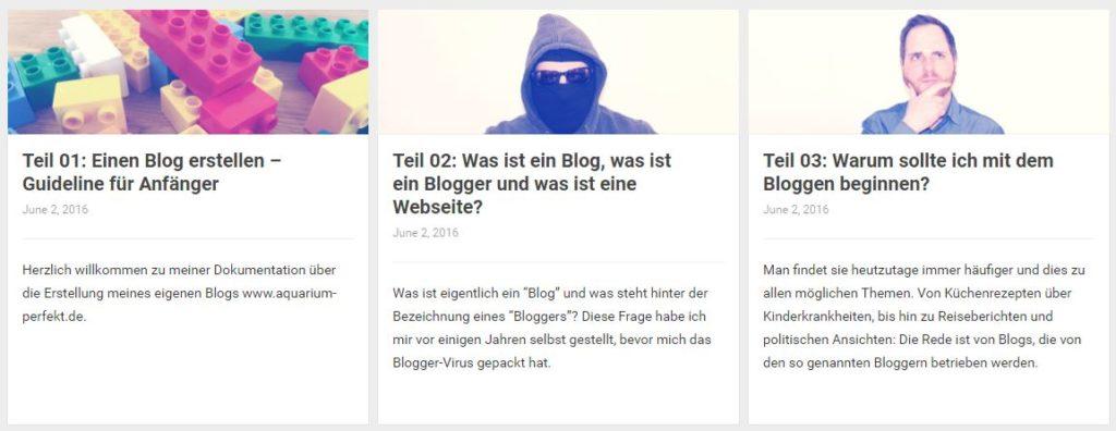 Starte deinen eigenen Blog