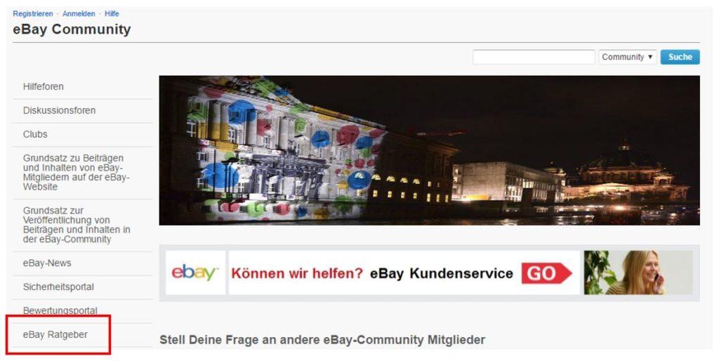 https://community.ebay.de/