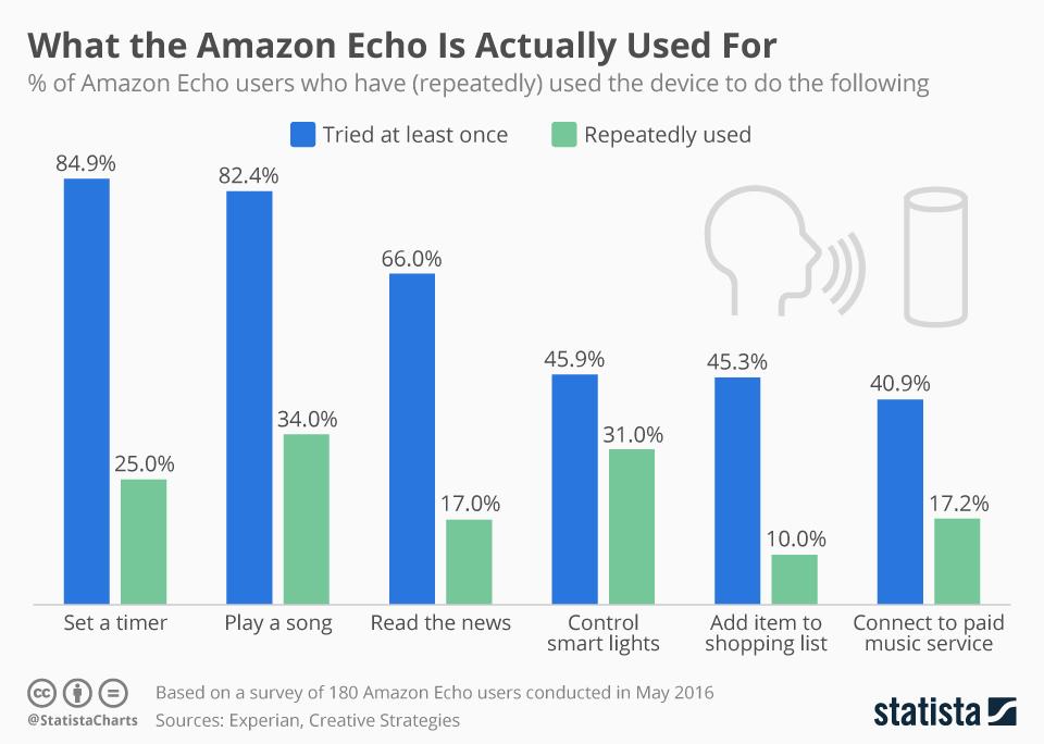 Für was wird Amazons Echo gebraucht?
