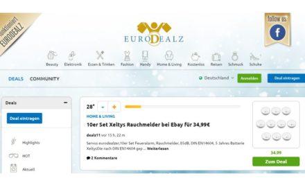 """So was kommt von so was: mydealz.de-Klon """"eurodealz.com"""" ist gestartet"""