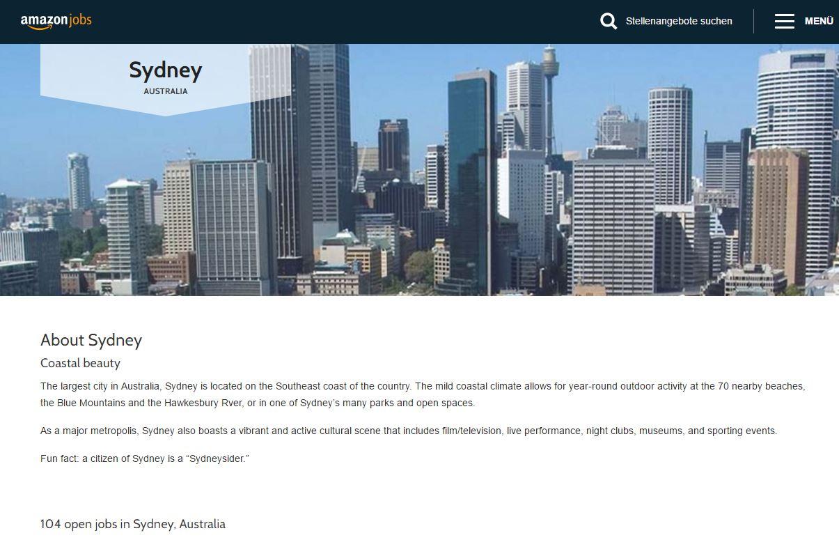 Amazon Sydney