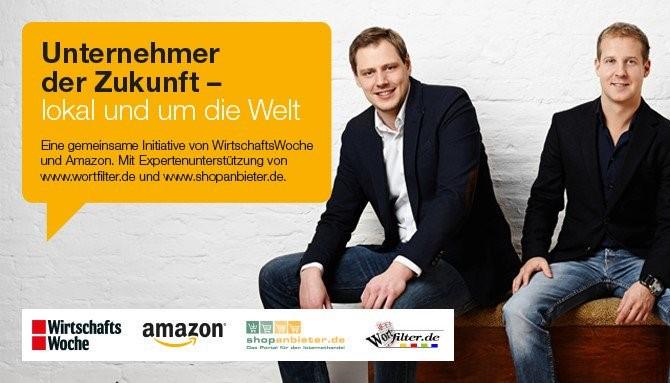 Amazon Förderprogramm: Unternehmer der Zukunft