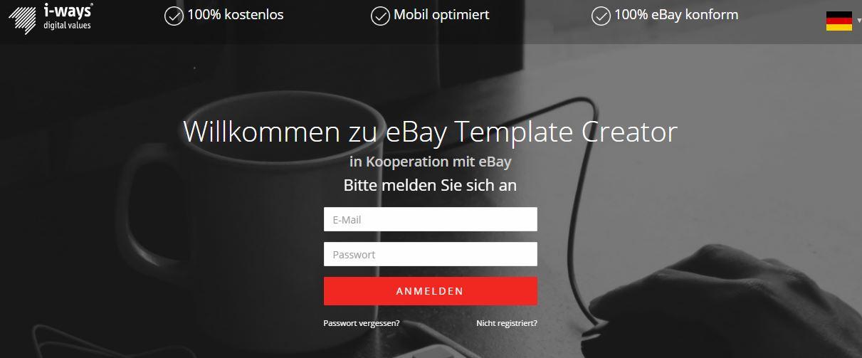 20 Tipps: Wie finde ich krasse eBay-Template? Der ultimative Ratgeber!   - i-ways-ebay-template-generator