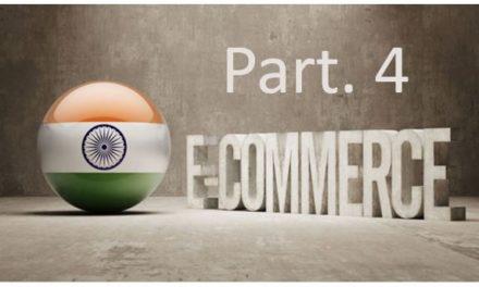 Der indische eCommerce Markt – Part. 4 – Indien eCommerce Branchen