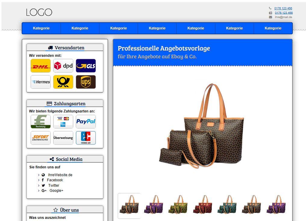 20 Tipps: Wie finde ich krasse eBay-Template? Der ultimative Ratgeber! - schlechtes-ebay-template
