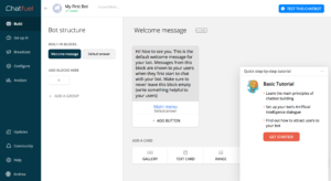 wortfilter.de Chatbot mit Chatfuel - Tutorial