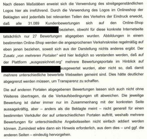 urteil-bewertung-ausgezeichnet-org
