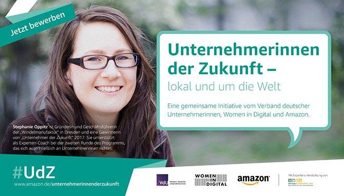 """Deutschlands """"Unternehmerinnen der Zukunft"""" gesucht!"""