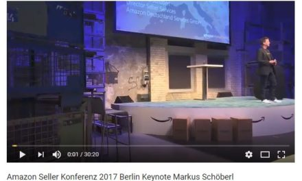 Amazon Seller Konferenz 2017 Berlin Keynote Markus Schöberl