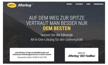 [WERBUNG] Afterbuy   All-in-One-Lösung für den Onlinehandel