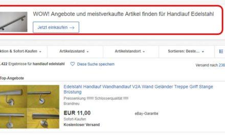 Begeht eBay regelmäßig Urheberrechtsverstöße?