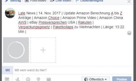 Late News | 14. Nov. 2017 | Update Amazon Berechnung A bis Z Anträge | Amazon Choice