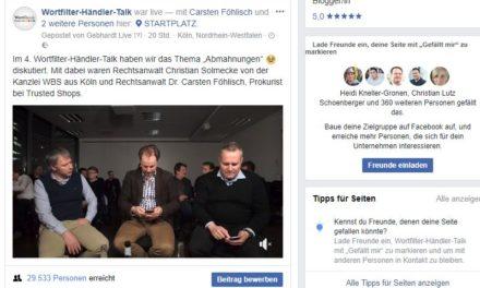 4. Wortfilter-Händler-Talk: Abmahnungen, Händlerbund und der IDO