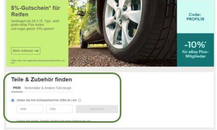 Häufig gefragt: Warum gibt es bei eBay Motors keine Varianten?