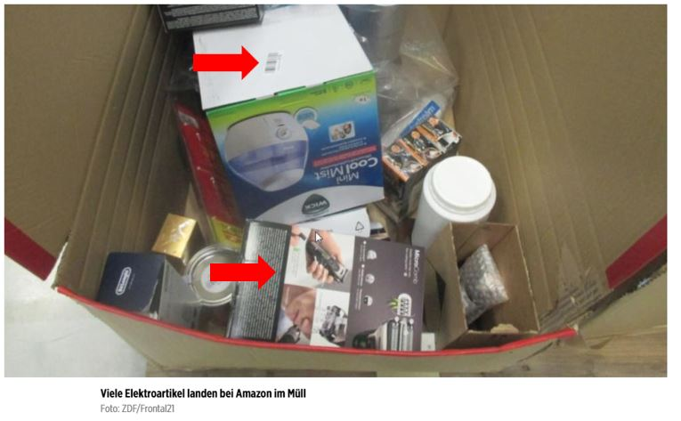 Amazon Skandal: Amazon vernichtet Ware