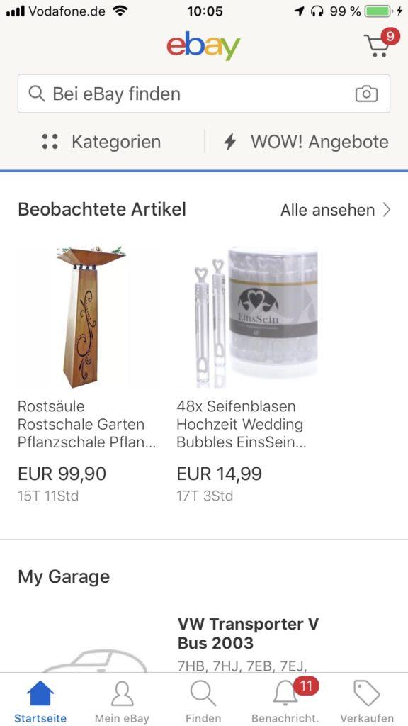 ebay Bildersuche
