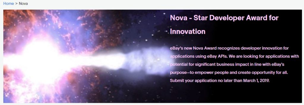 Nova - Star Developer Award