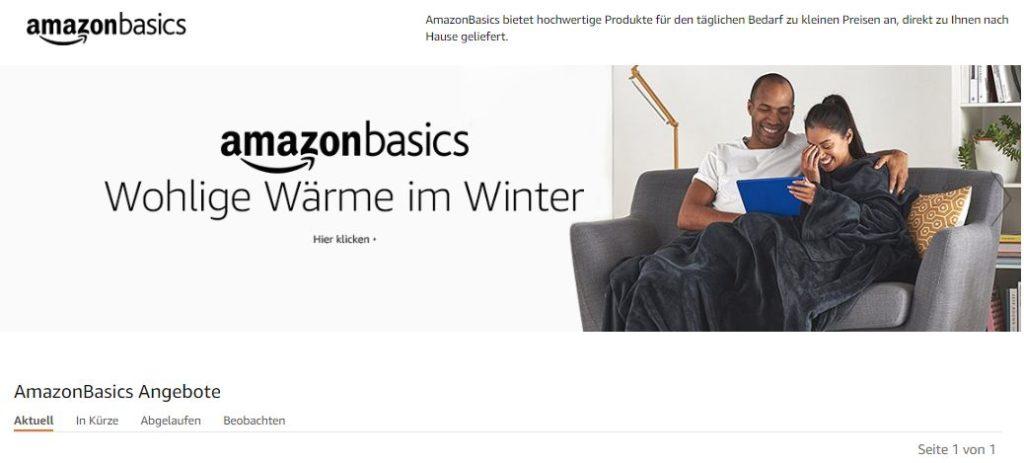 Case Study zu Amazon Basics