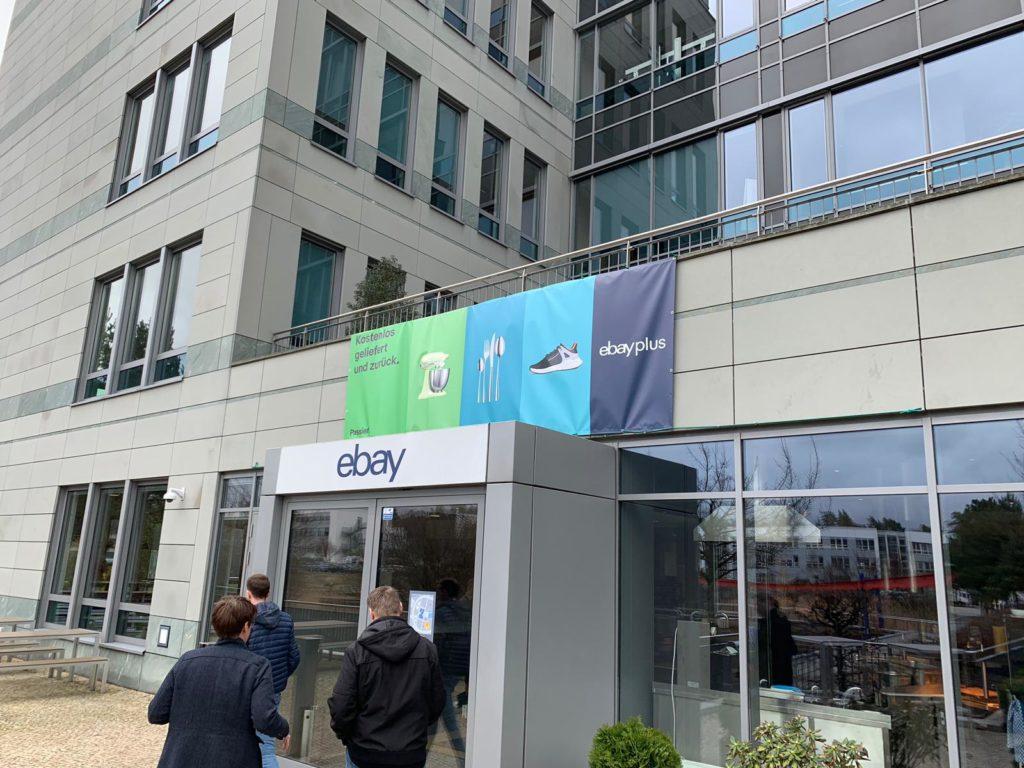Recap eBay Seller Council & Eben Sermon bekommt mehr Arbeit in Berlin eBay Dreilinden