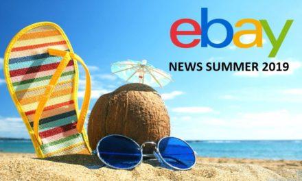 eBay NEWS Sommer 2019. Daumen hoch.