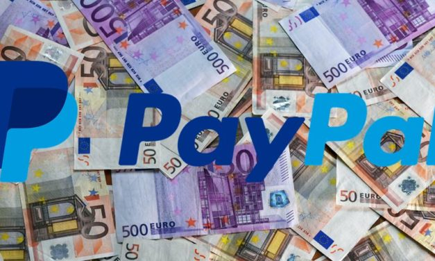 PayPal mit Störung. Wahrscheinlich bis Montag.