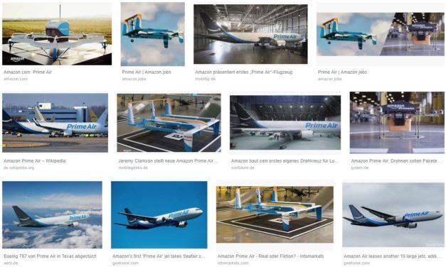 Amazon investiert 1.5 Mrd. US$ in Luftfrachtzentrum